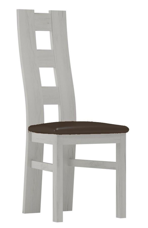 Čalúnená stolička I jasan bílý/Victoria 36