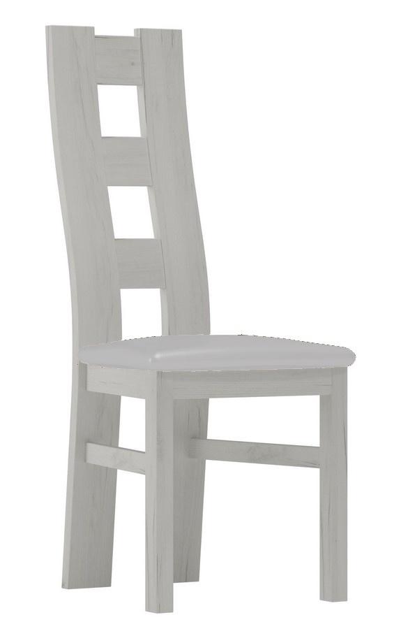 Čalúnená stolička I biela/Victoria 20