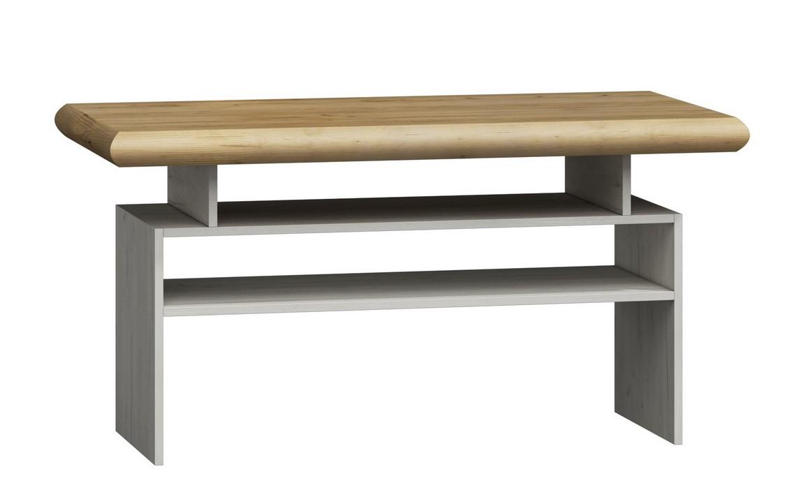 konferenčný stolík KORA K13 divoký dub/biela