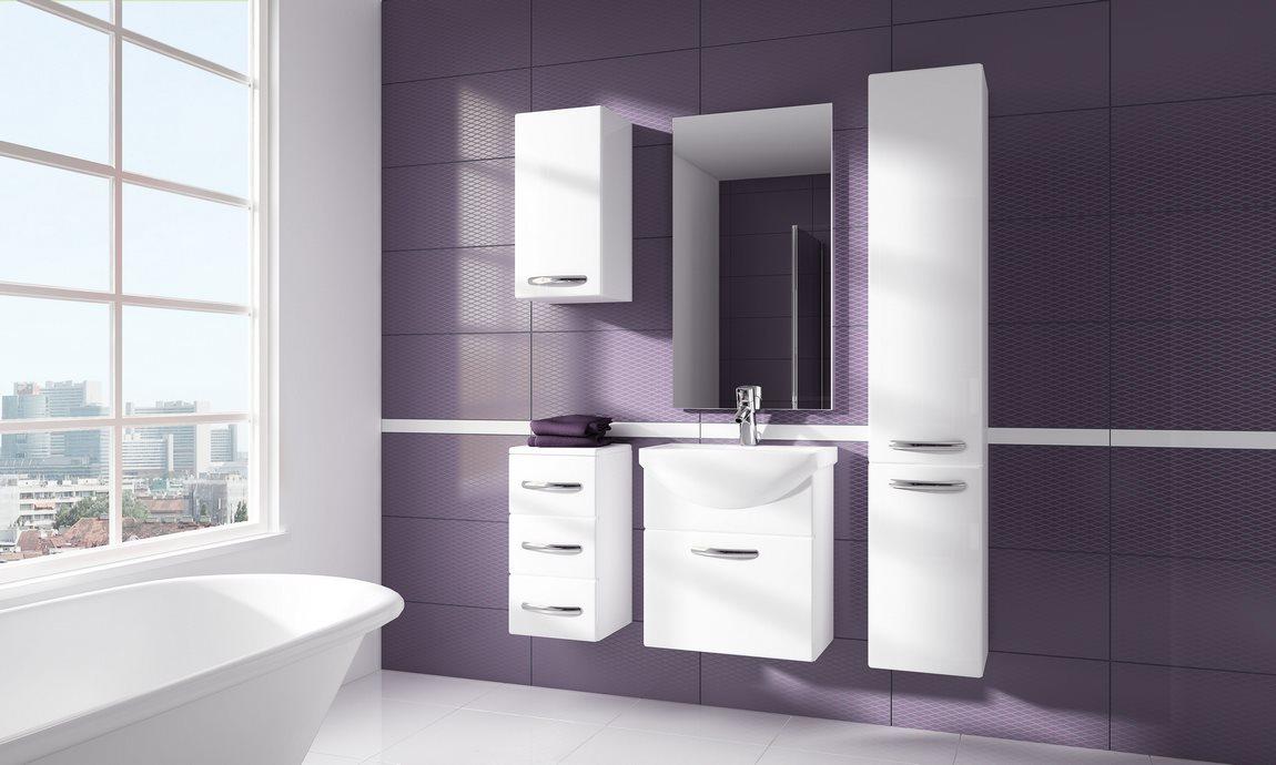 Kúpelňová zostava CORAL biela
