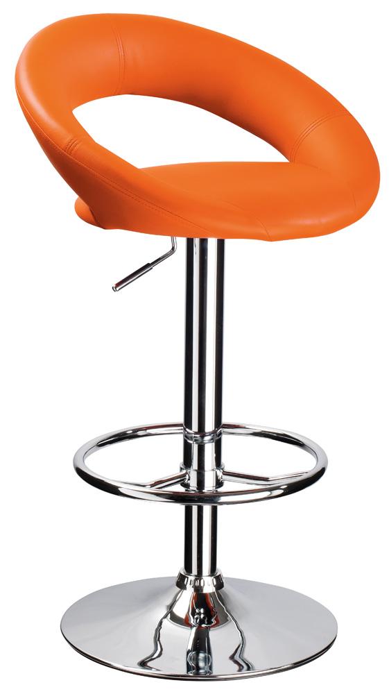 Barová stolička KROKUS C-300 oranžová
