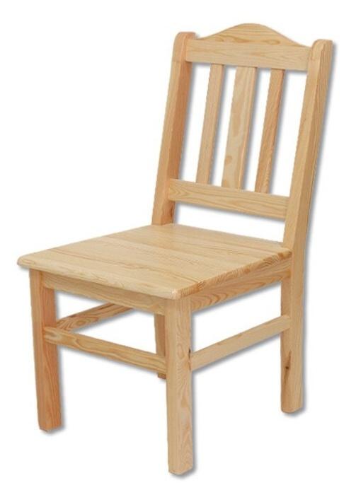 TK-101 stolička z borovicového dřeva