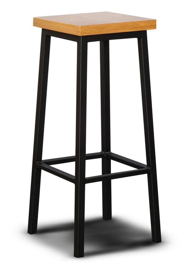 Barová stolička LOFT L3 dřevo/kov
