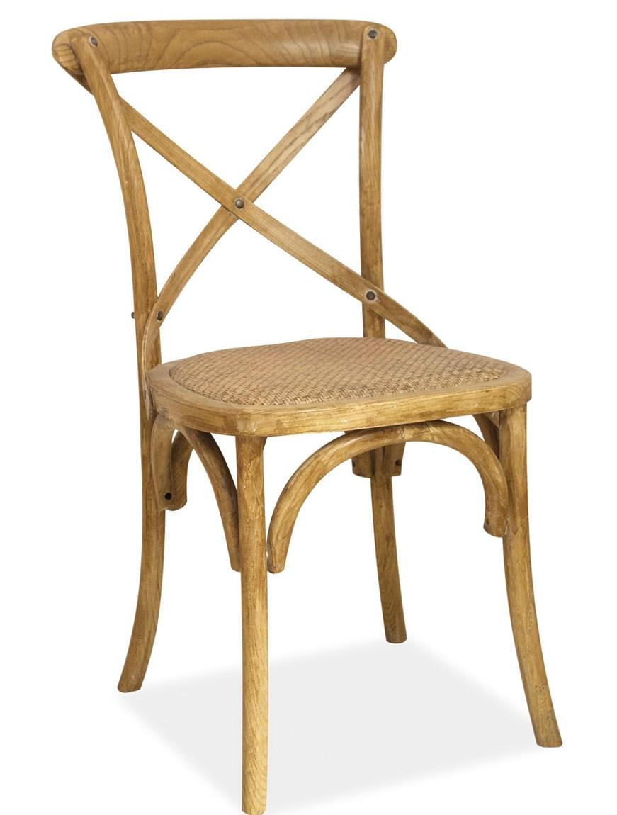 Jedálenská drevná stolička LARS buk