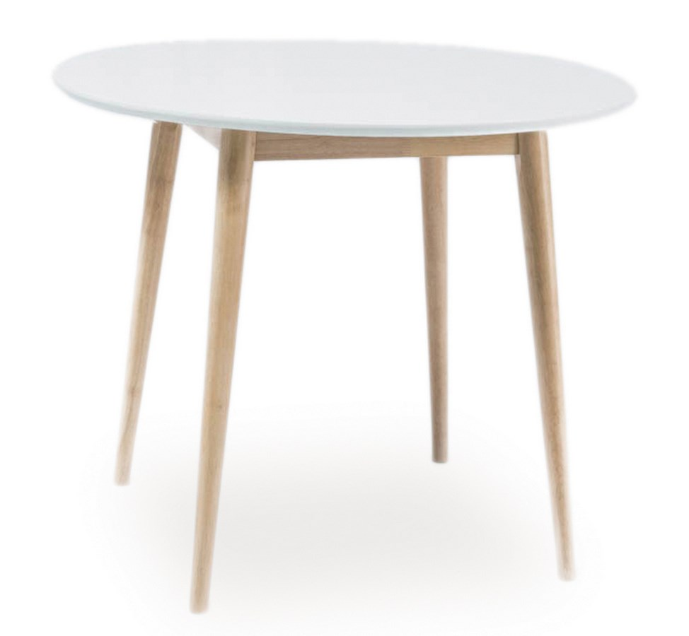 Jedálenský stôl guľatý LARSON 90x90 cm