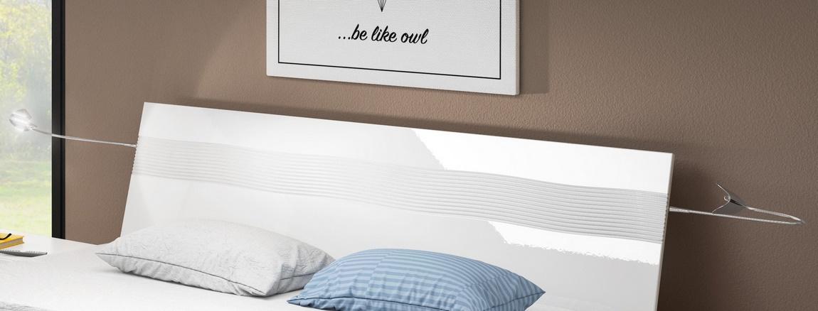 LED Osvetlenie k posteli ALABASTER