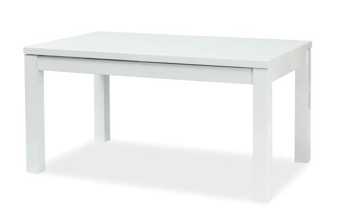 Jedálenský stôl LIBERI rozkládací biely