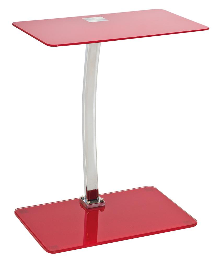 stolík LIFTO červený