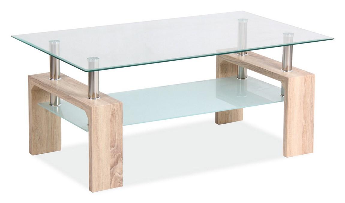Konferenčný stolík LISA BASIC II - dub sonoma