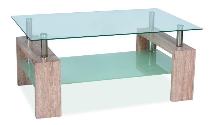 Konferenčný stolík LISA II - dub sonoma