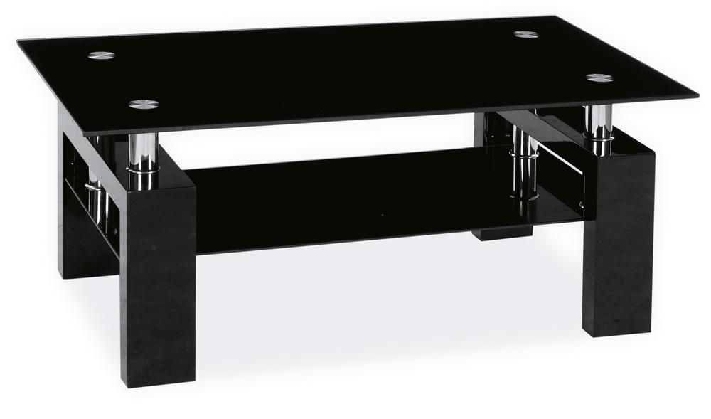 Konferenční stolek LISA II - černý lak