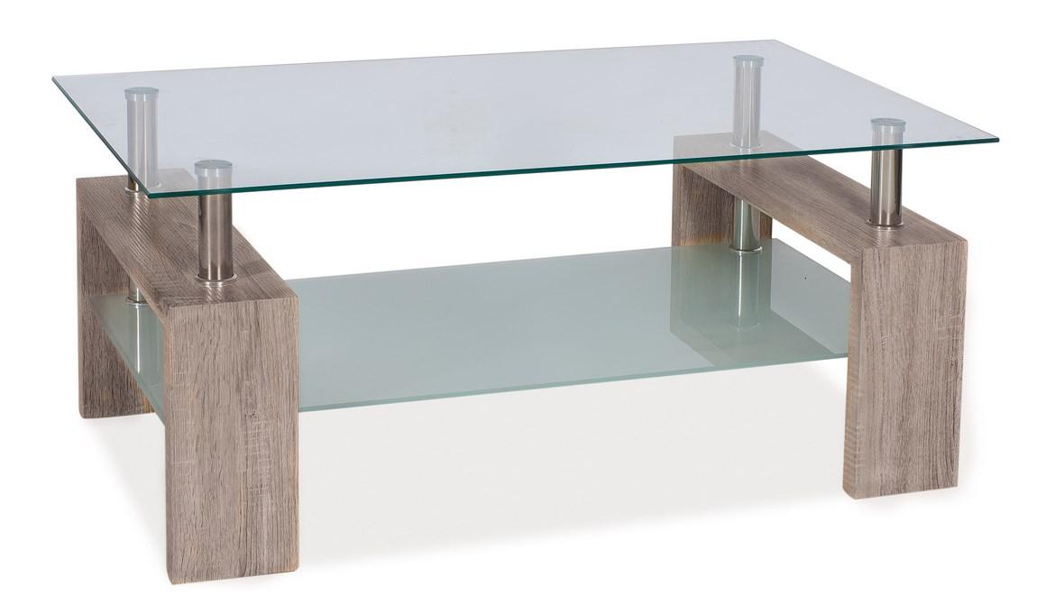 Konferenční stolek LISA II - dub canyon