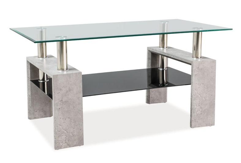 Konferenční stolek LISA II - beton