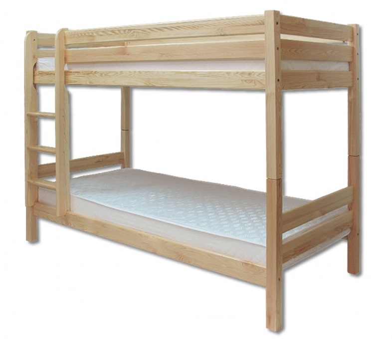KL-136 postel poschoďová šířka 80