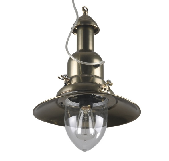 Závesná lampa LW-43 mosaz