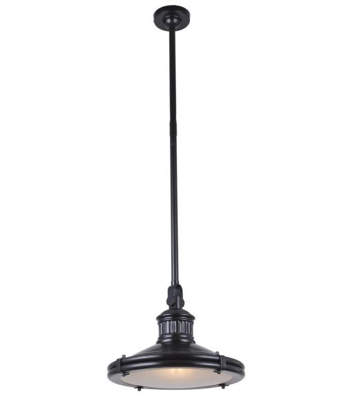 Závesná lampa LW-78 čierna