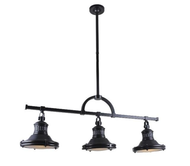 Závesná lampa LW-79 čierna