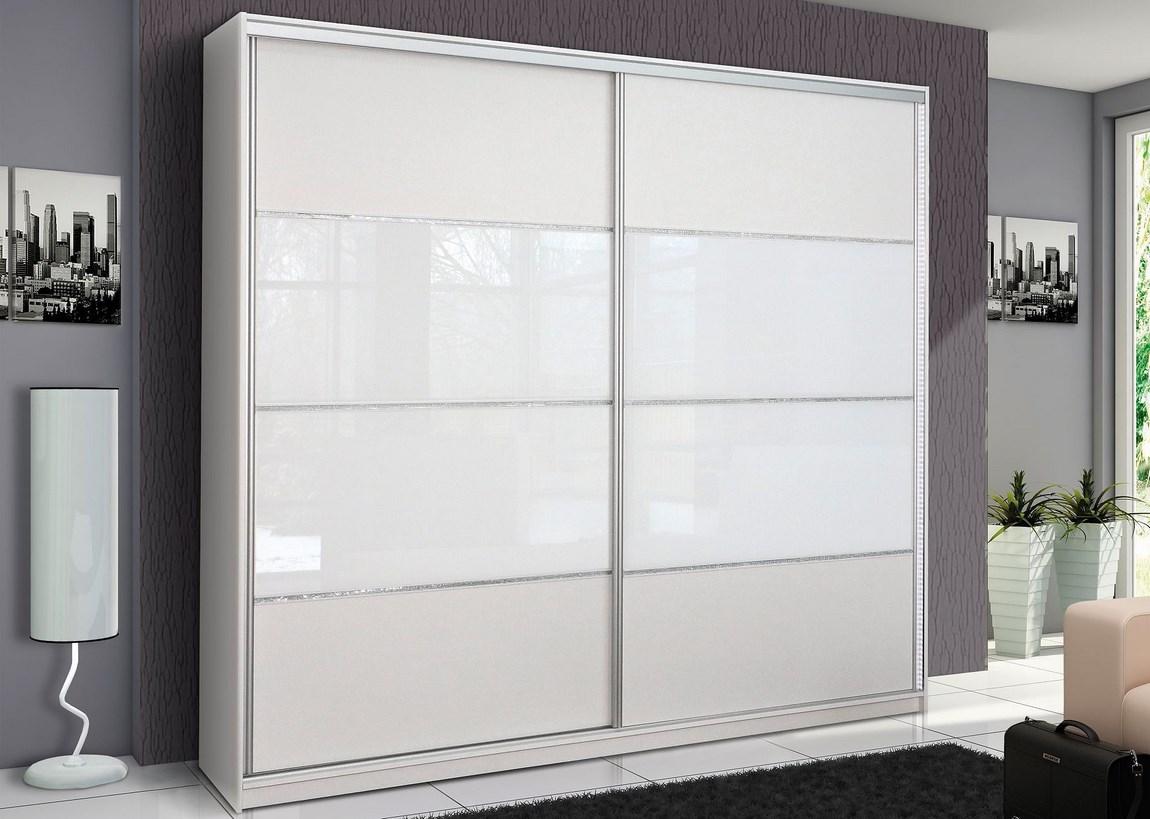 Šatní skříň MALAGA bílá