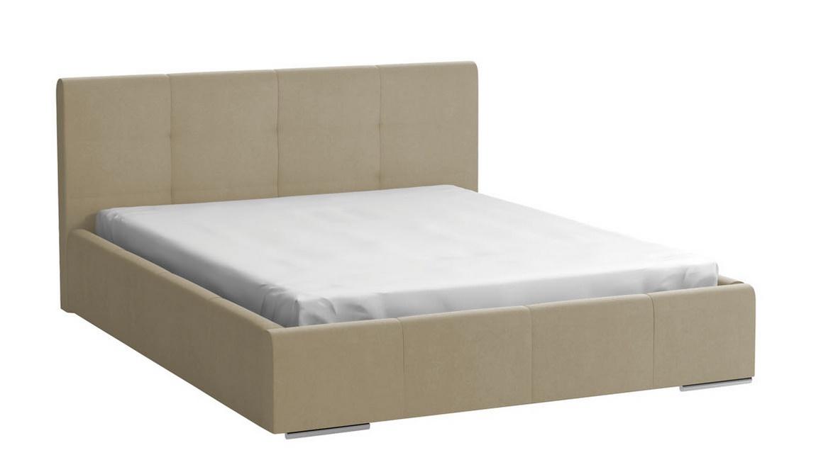 Čalúnená postel MEDIOLAN 140x200 béžová