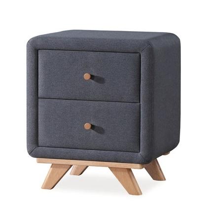 Nočný stolík MELISSA šedý
