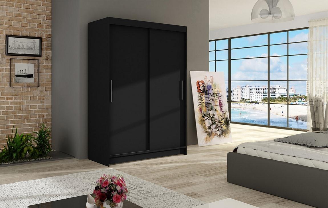 Šatní skříň MIAMMI I černá