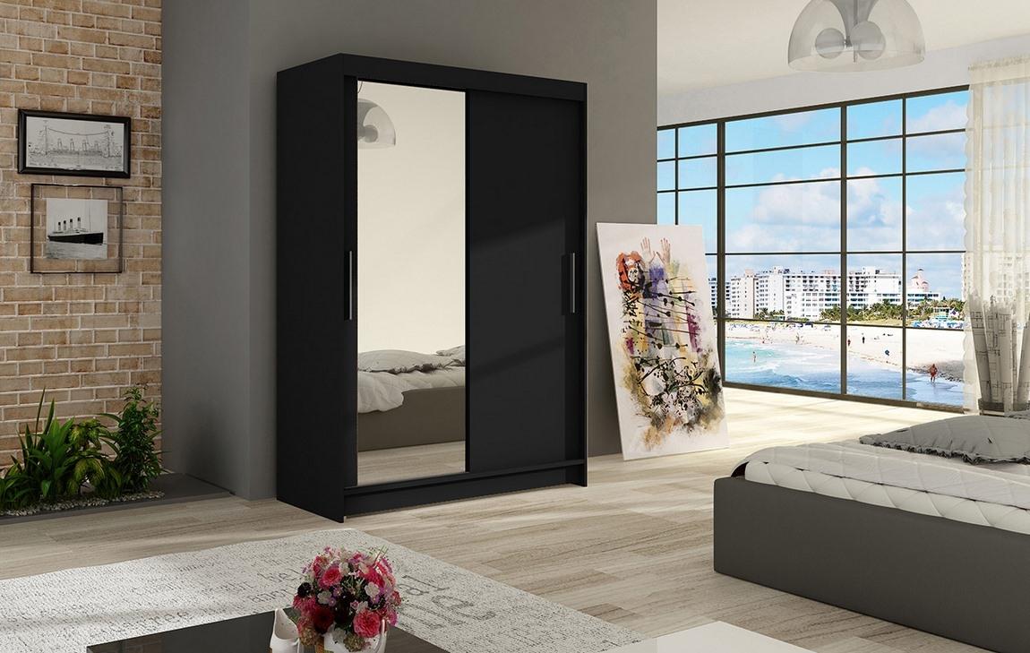 Šatní skříň MIAMMI VI černá
