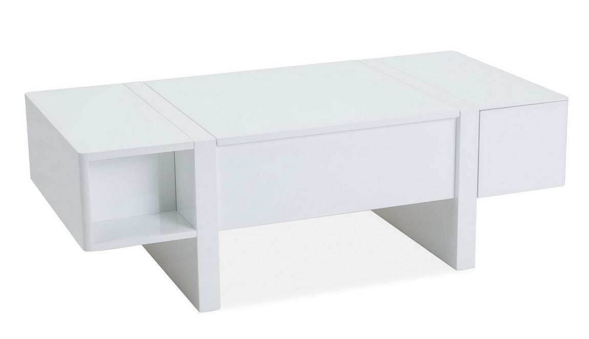 Konferenční stolek MIDO bílá
