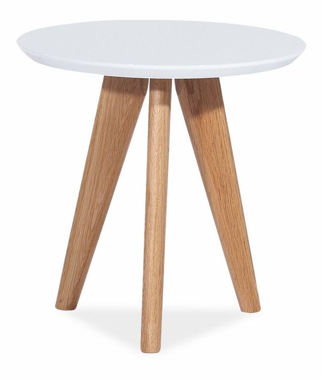 *Konferenční stolek MILAN S1 bílý