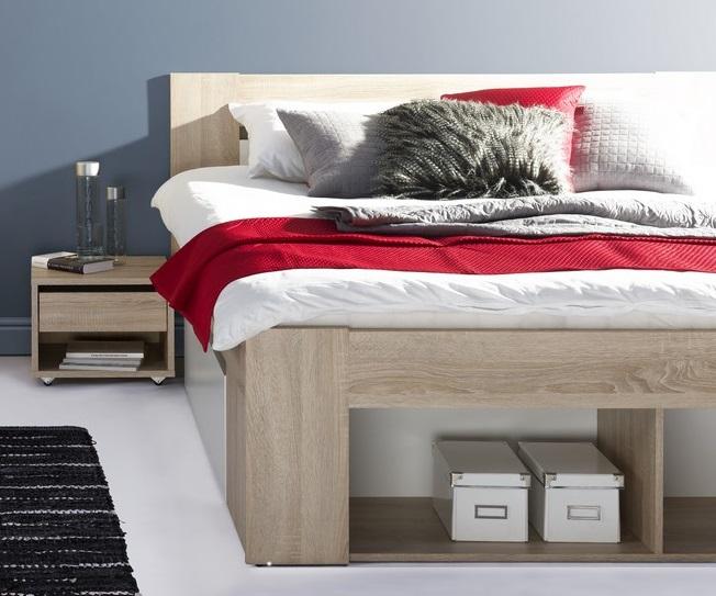 Spálňa MILO II (postel 140, skriňa)