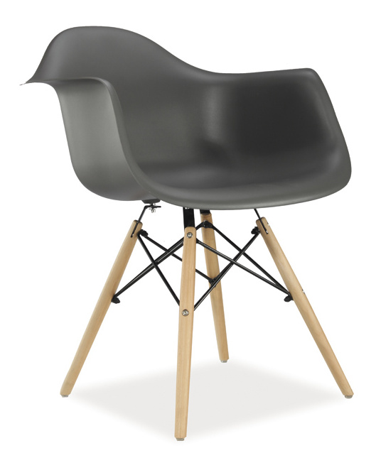 Jedálenská stolička MONDI šedá