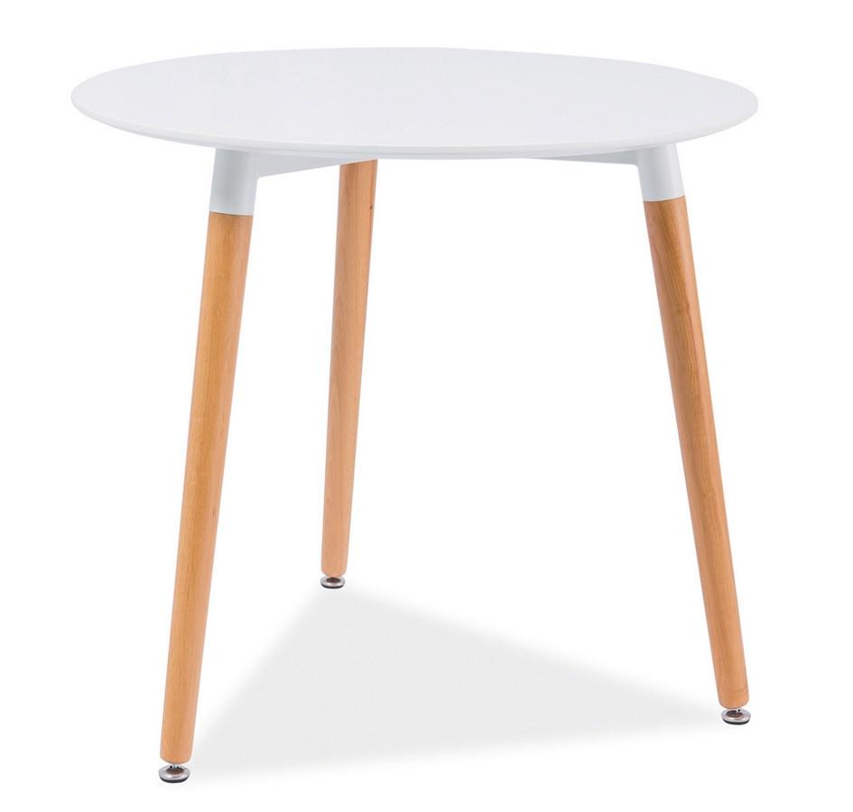 Jedálenský stôl gulatý NOLAN III