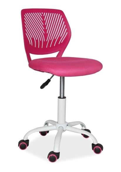 Kancelárska stolička MAX růžová