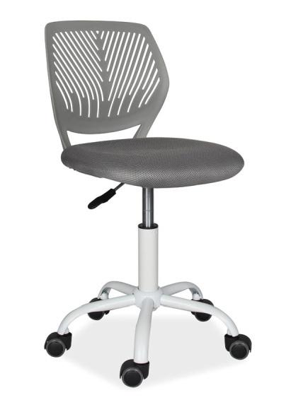 Kancelárska stolička MAX šedá