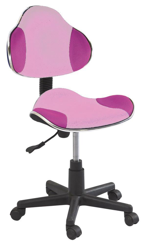 Kancelárska stolička Q-G2 růžová