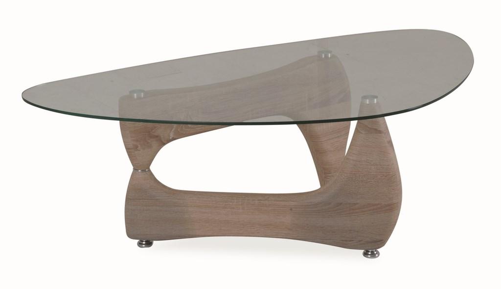 Konferenční stolek OMEGA dub sonoma