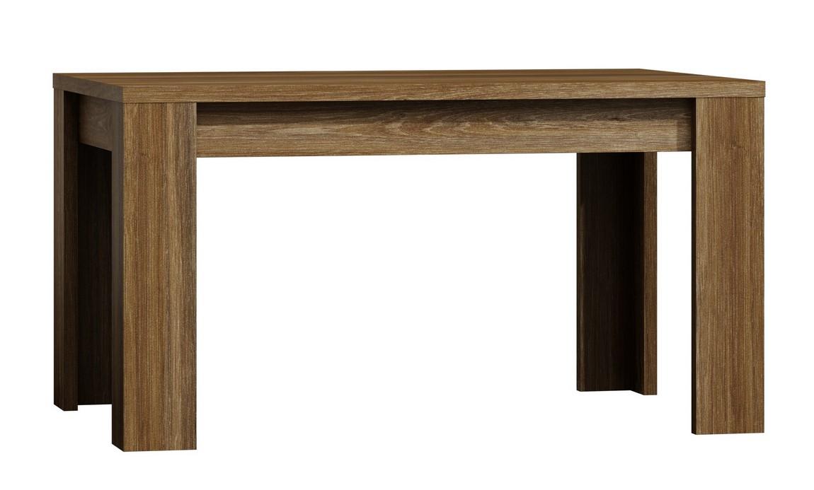 Jídelní stůl rozkládací 120 x 80 PARIS dub Stirling