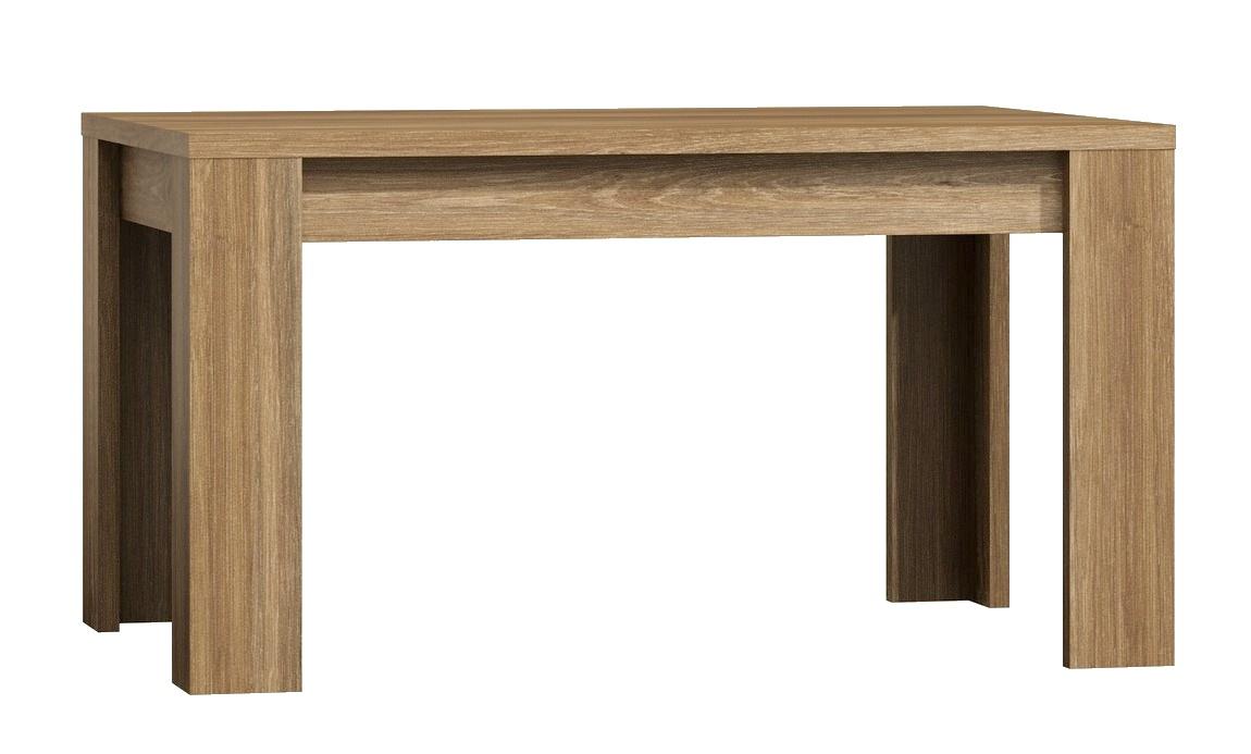 jedálenský stôl rozkládací 160 x 90 PARIS dub Sanremo