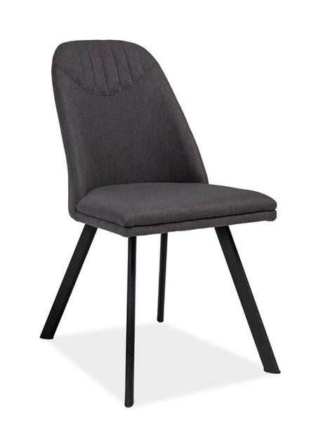 Jedálenská čalúnená stolička PABLO šedá