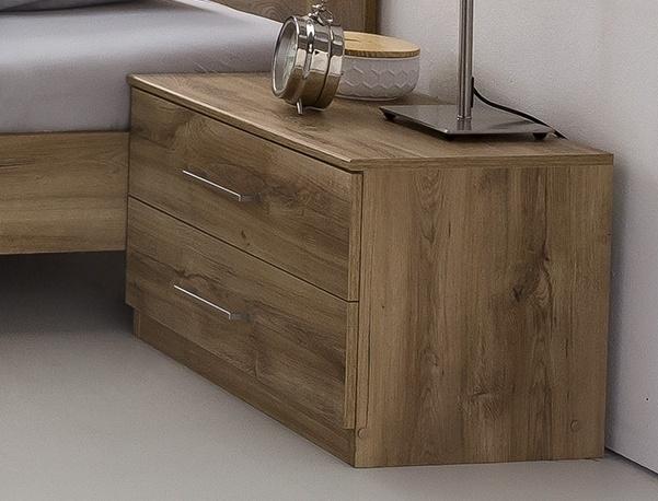 nočný stolík PAMELA 697 divoký dub
