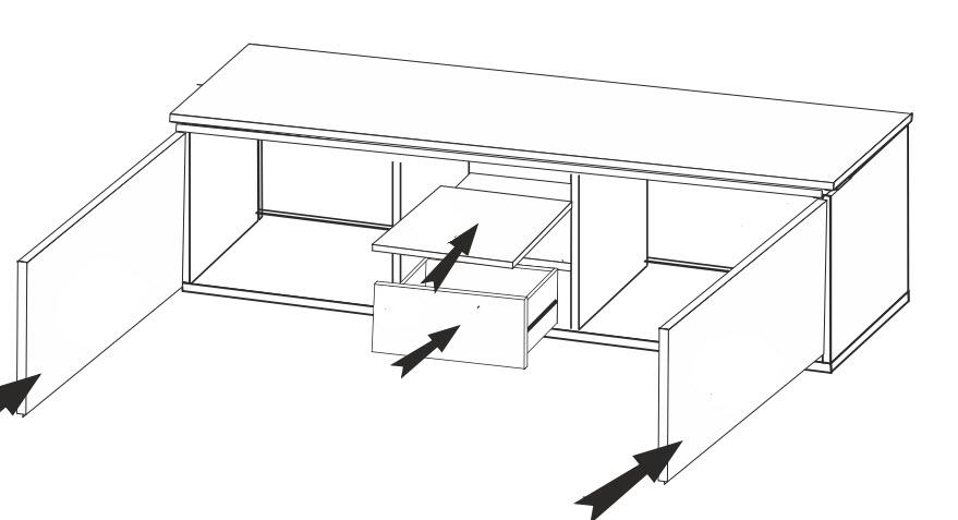 Obývací sestava BERLIN (T-02+40+60+52)