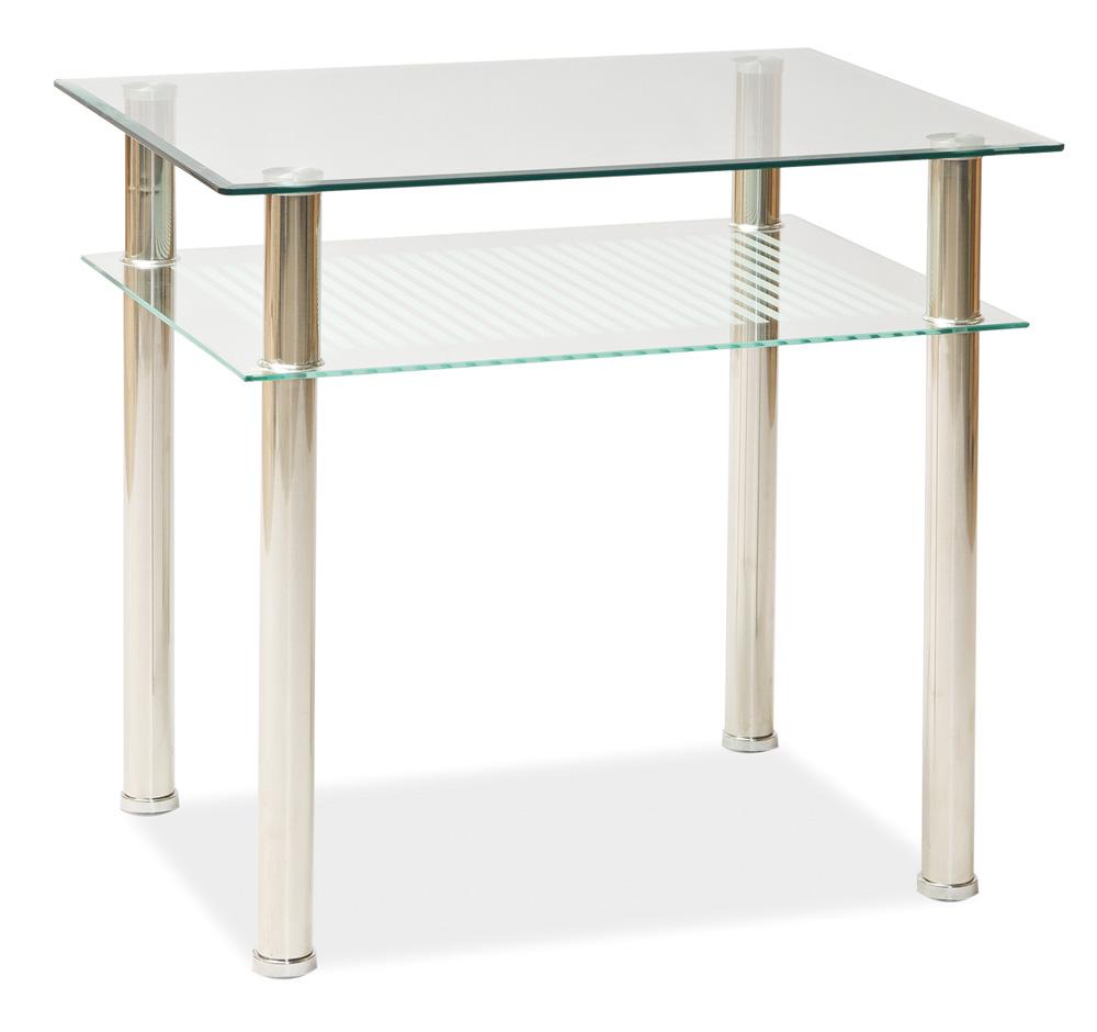 Jedálenský stôl PIXEL 80x60 cm