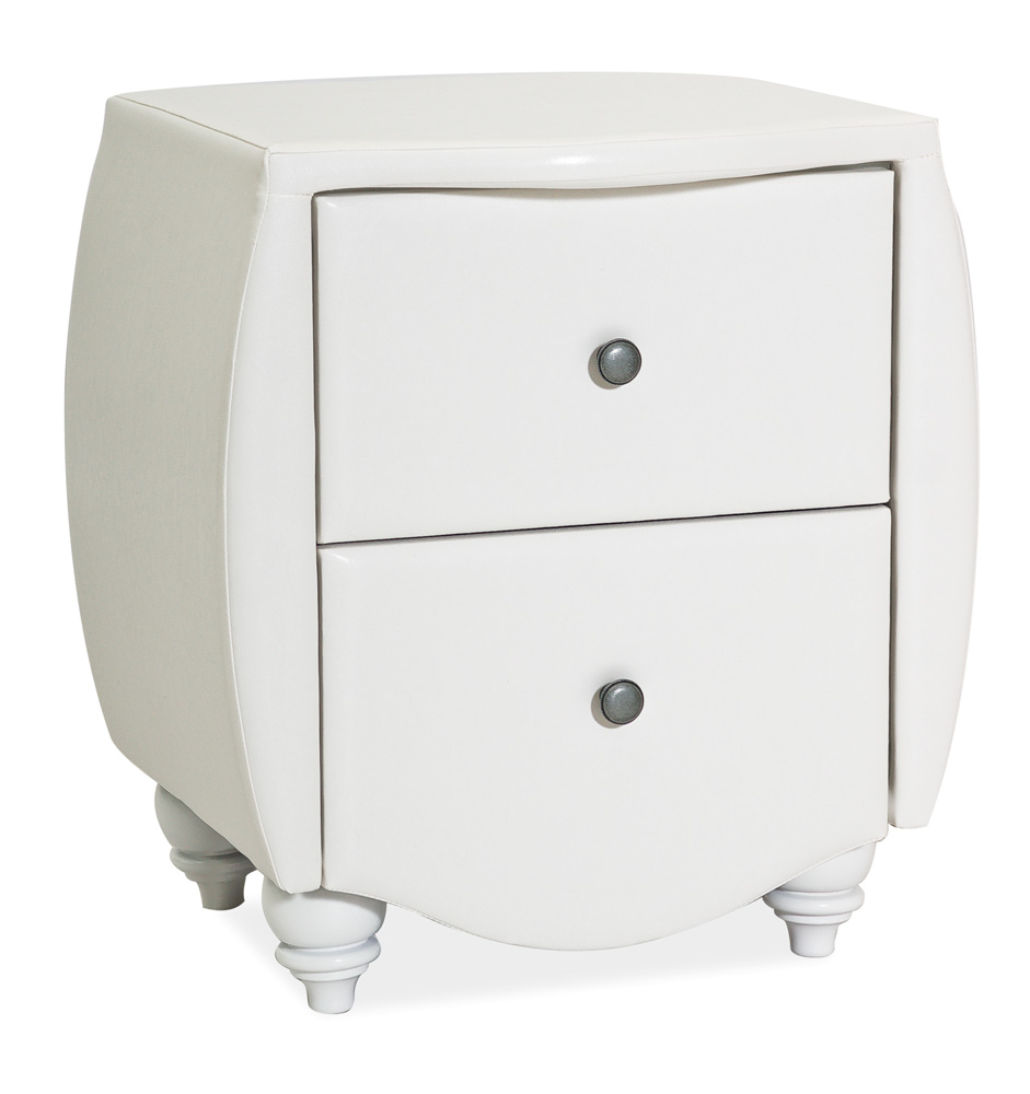 Noční stolek POTENZA bílý