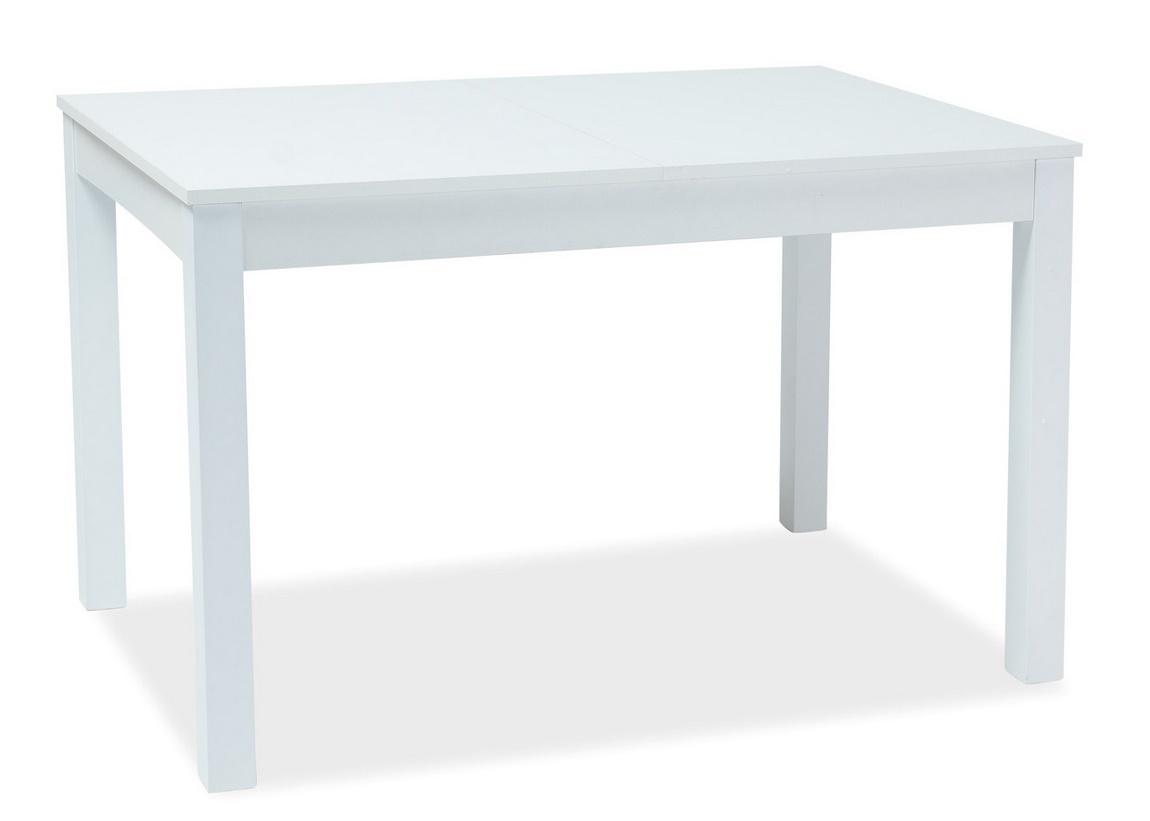 Jedálenský stôl rozkládací PRISM biela