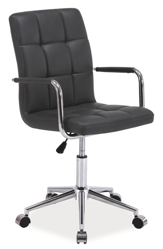 Kancelářská židle Q-022 šedá