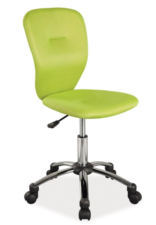 Kancelárska stolička Q-037 zelená