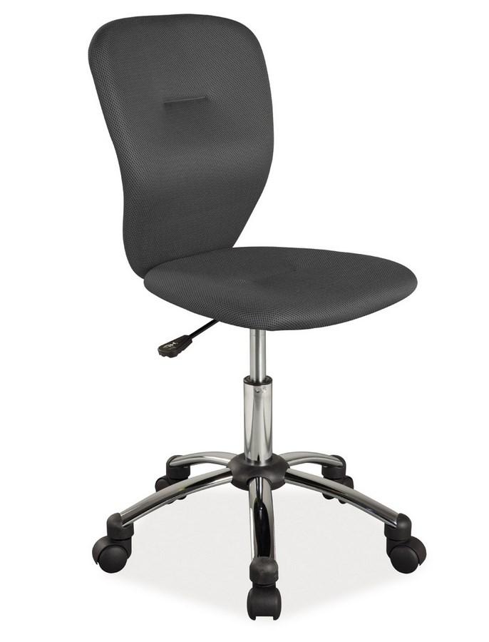 Kancelárska stolička Q-037 čierna