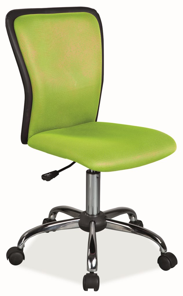 Kancelárska stolička Q-099 zelená/čierna