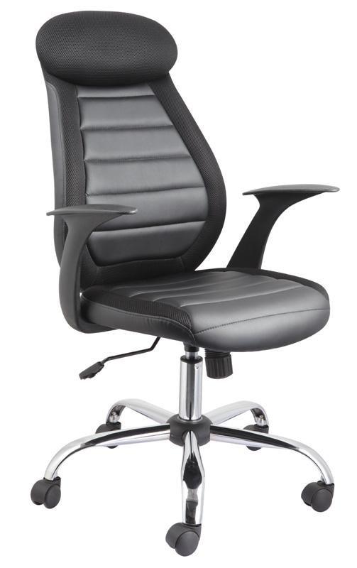 Kancelárske kreslo Q-102 - čierna