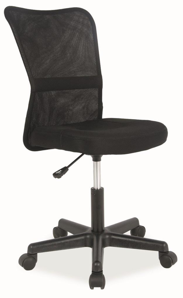 Kancelárska stolička Q-121 čierna
