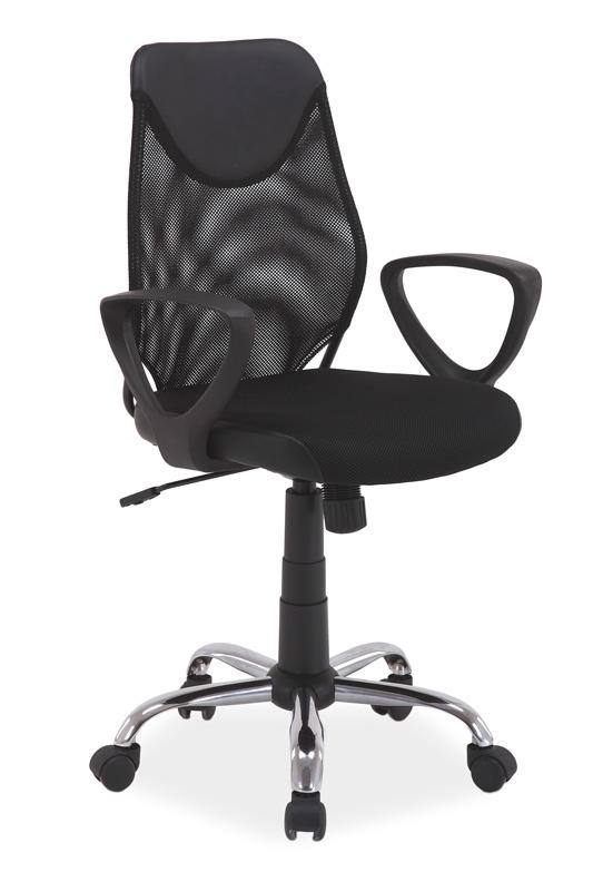 Kancelárska stolička Q-146 čierna